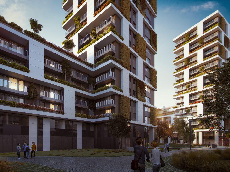 Zöld és okos – új lakópark Újpesten