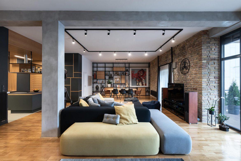 Pazar loft lakás egy újjászületett malomban