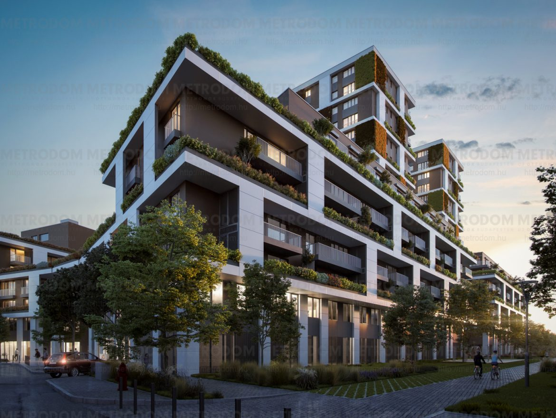 Nézz be Budapest egyik legkülönlegesebb lakóparkjába! – Nyílt napot tart a Metrodom Panoráma